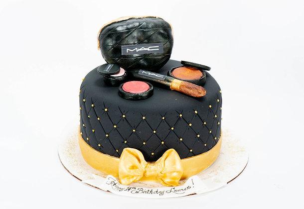 MAC Makeup Cake - 6 inch round (feeds 8-10)