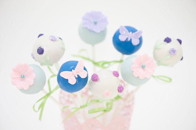 Butterfly/Floral Cake Pops - 1 dozen