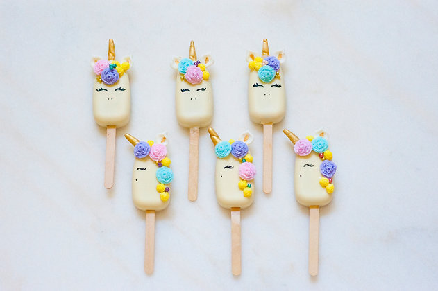 Unicorn Cakesicles - 1 Dozen