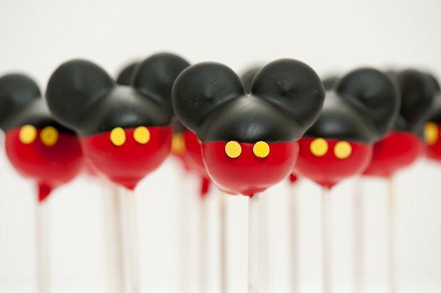 Mickey Mouse Custom Cake Pops - 1 dozen