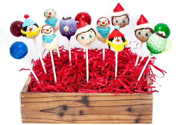 Holiday Cake Pops - 1 Dozen