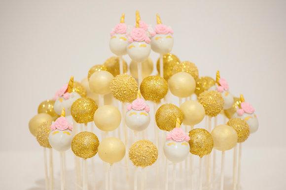 Unicorn Cake Pops - 1 dozen