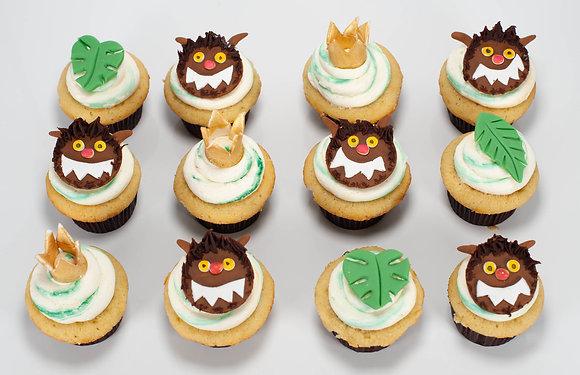 Where the Wild Things Are Cupcakes - 1 Dozen