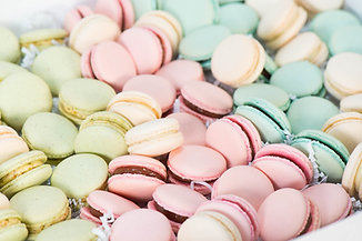 Assorted French Macarons - 1 dozen
