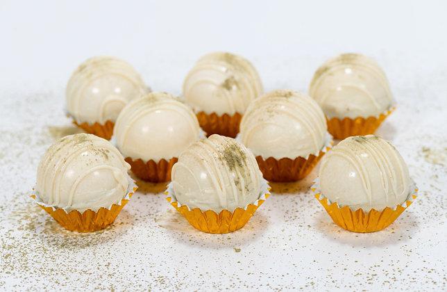 White Chocolate Matcha Bombs (small) - 4 pack