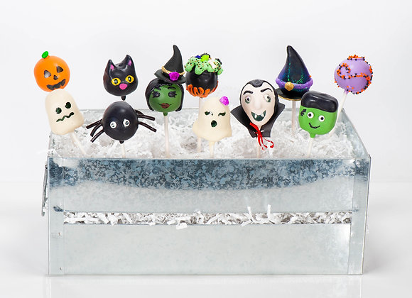 Halloween Cake Pops  - 1/2 dozen in gift box