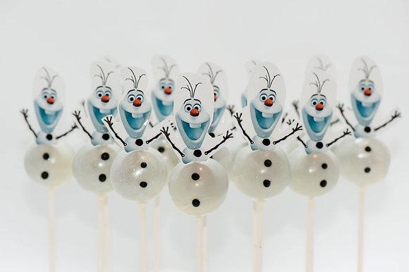 Olaf Cake Pops - 1 dozen