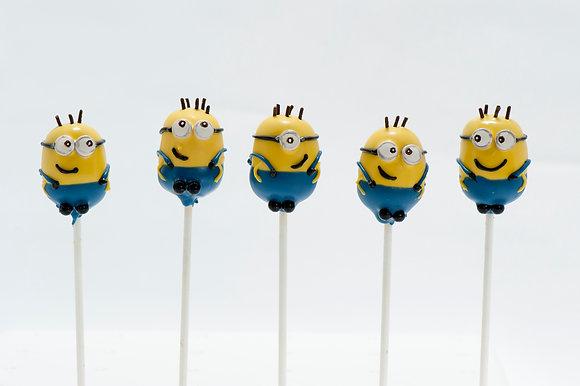 Minions Custom Cake Pops - 1 dozen