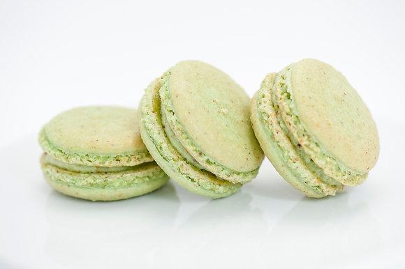 Pistachio Macaron with Pistachio Buttercream