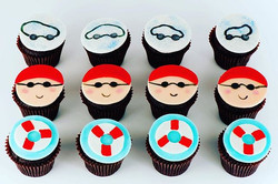 For all the swim instructors out there! #customsdesserts #customcupcakes #swiminstructors #swimmer #