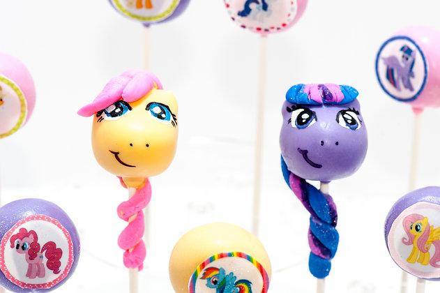 My Little Pony Cake Pops - 1 dozen