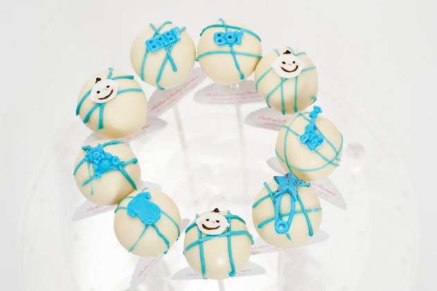 Baby Shower Cake Pops - 1 dozen