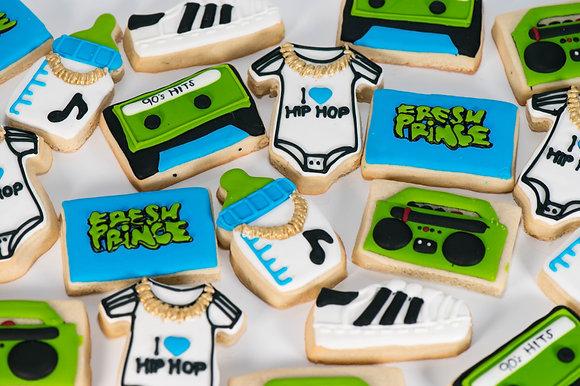 Fresh Prince Baby Shower Cookies - 1 dozen