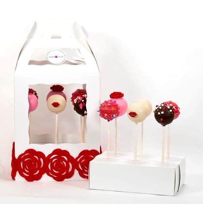 Sweetheart Cake Pop Box