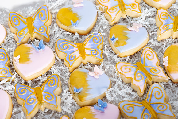 Butterfly Sugar Cookies - 1 Dozen