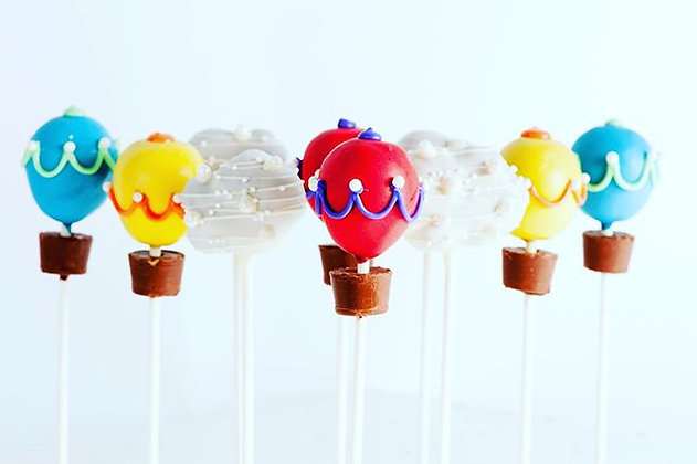 Hot Air Balloon Cake Pops - 1 Dozen