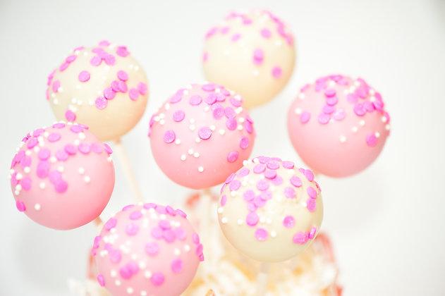 Sprinkles Cake Pops - 1 dozen
