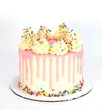 Sprinkle Drip Cake (6 inch round)