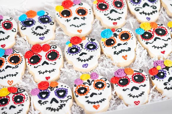 Dia De Los Muertos Sugar Cookie Gift Box (style 1)