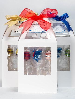 Graduation Cake Pop Gift Box