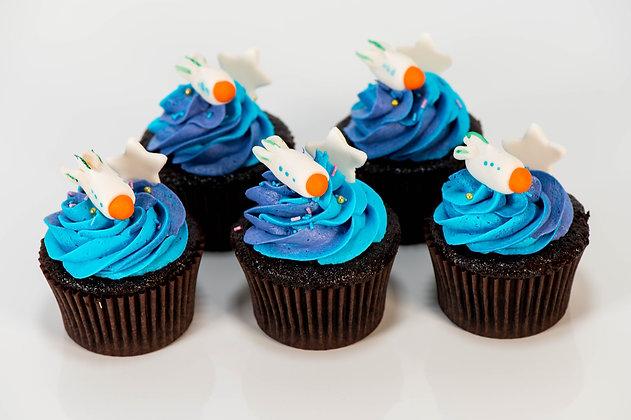 Galaxy Cupcakes - 1 dozen