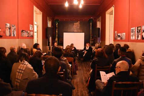 Revista apresentada em Lisboa