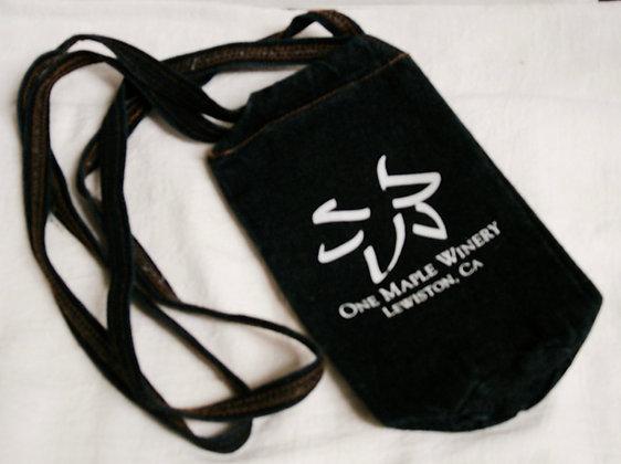 Denim Water/Wine Bag