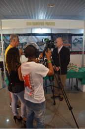 Dr. Stetson is interviewed by Cuban television on the role of Operation Arthroscopy in helping the Cuban surgeons learning arthroscopy.