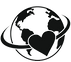 love-the-earth-black-simple-icon-vector-