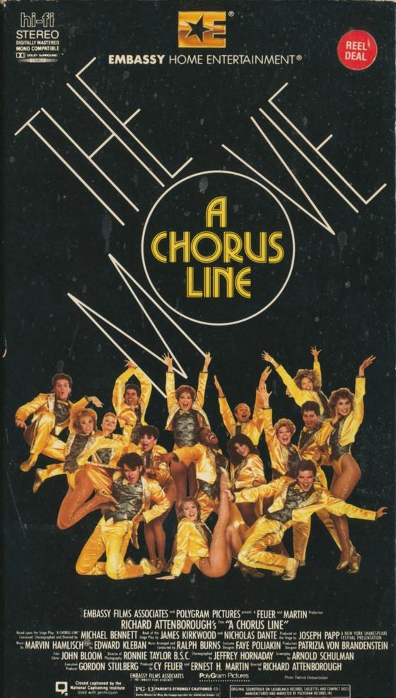 Podcast #17 A Chorus Line
