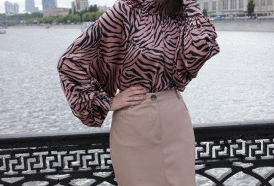 Блузка с бантом дизайнерская KOT'S