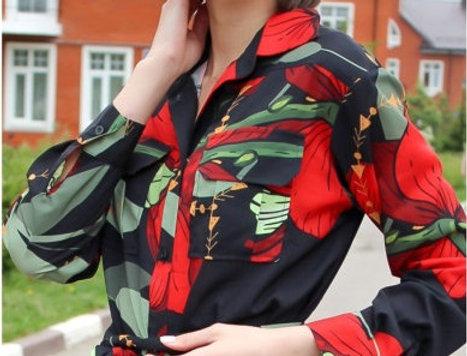 Платье рубашка KOT'S
