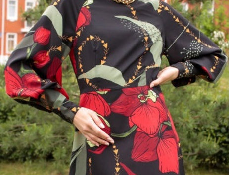 Платье приталенное KOT'S