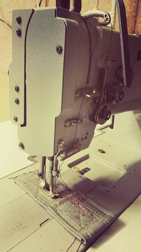 Sewing Machine used by Canvas Lifestyle NZ