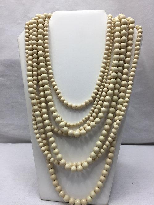 BaubleBar Multi-strand Necklace - Ivory