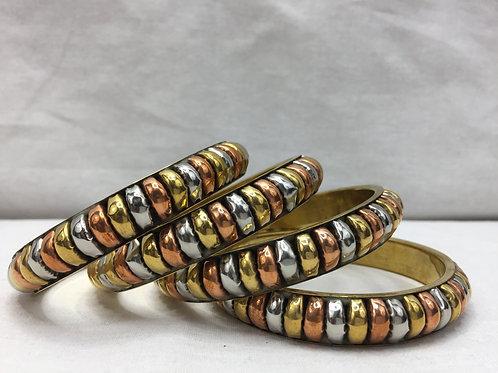Gorgeous Multi-Tone Bracelets
