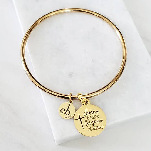 Expressions Bracelets - Chosen Blessed Forgiven Redeemed