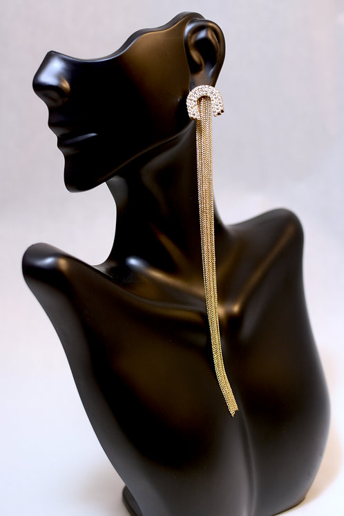 Shoulder Duster Earrings in Gold - Baublebar