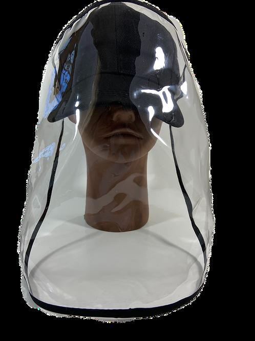 Baseball Cap with Detachable Face Shield