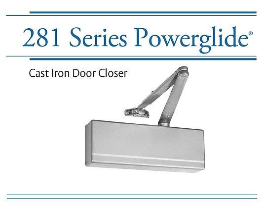 281 Series Cast Iron Closer