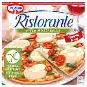 Dr Oetker gluten-free pizza is one of the best