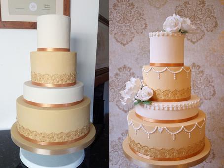 How to transform a wedding cake