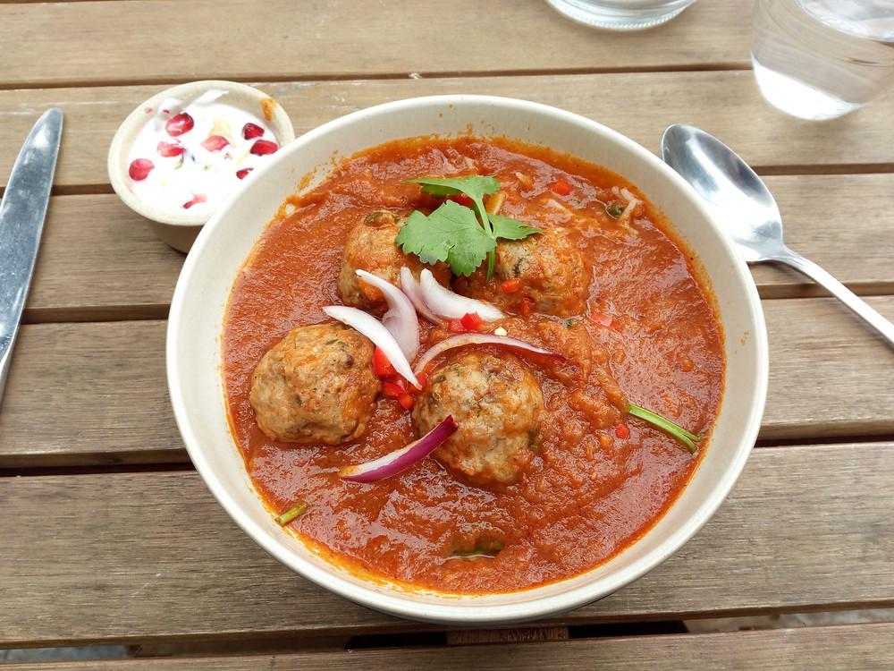 Meatballs at Coconut Chilli