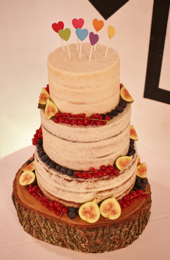 Hearts semi-naked wedding cake.JPG