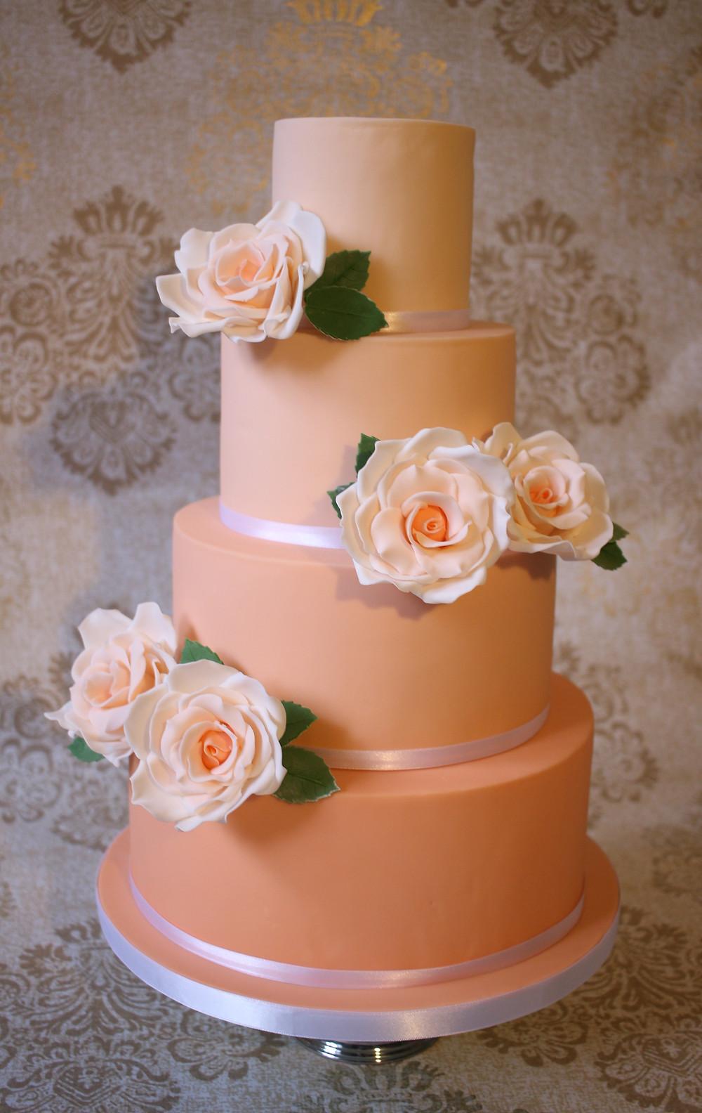 Vegan wedding cake (and fabulous!)