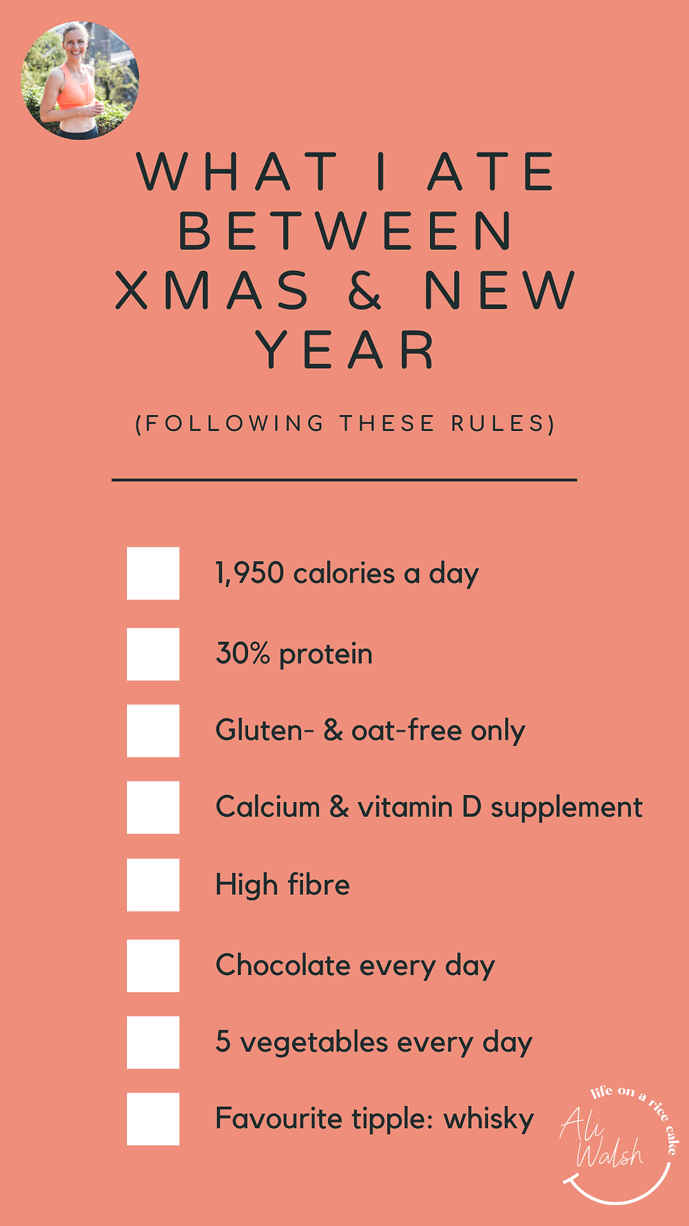 What I ate between Xmas and New Year