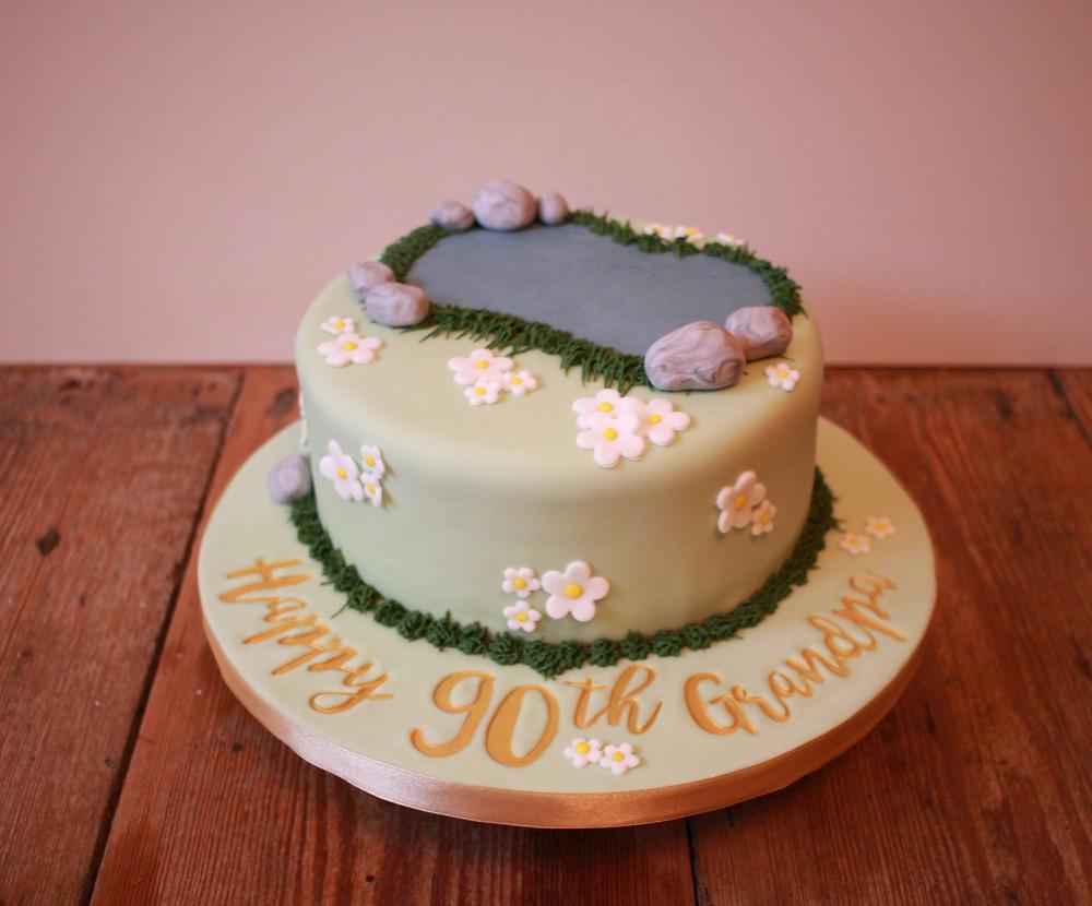 90th birthday gluten-free cake