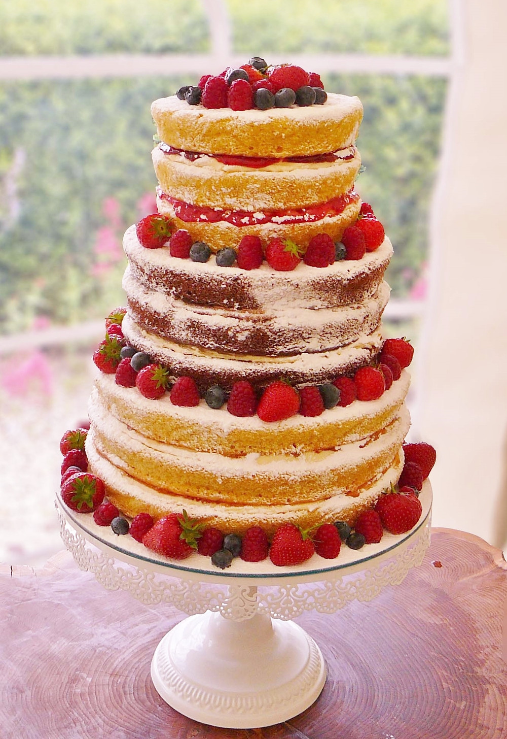 Plenty of fruit & no outside icing - that's the first step!