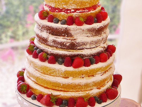 The wedding cake that can lower your blood pressure (possibly)