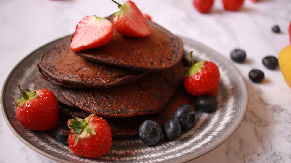 Recipe: superberry lemon pancakes